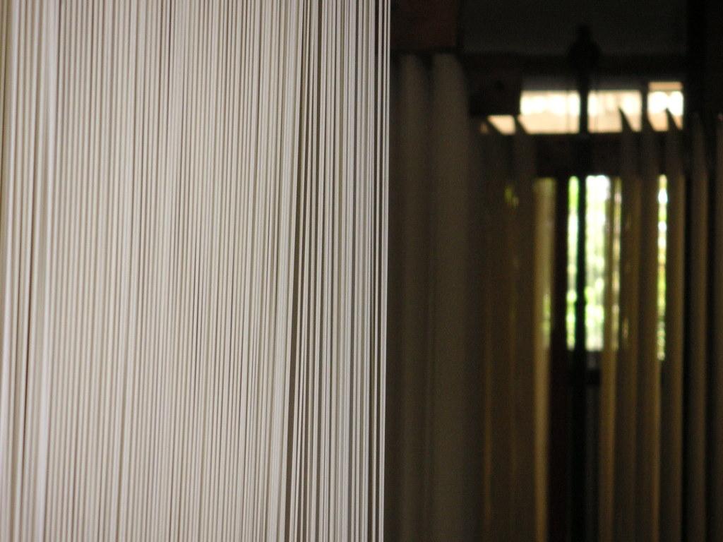 乾燥室で、気持ちよさそうに風に吹かれている麺をみると、嬉しくなります。