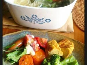 平麺は、スープの絡みがちがいます。